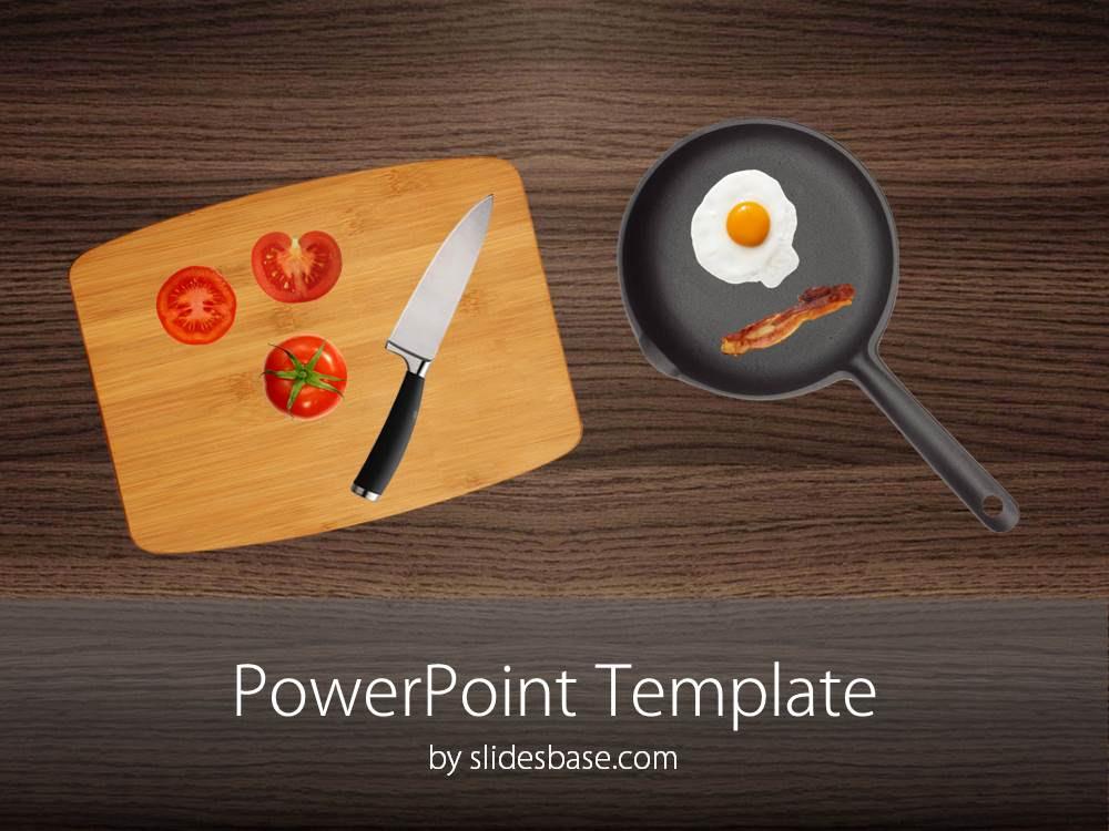Kitchen Table PowerPoint Table | Slidesbase
