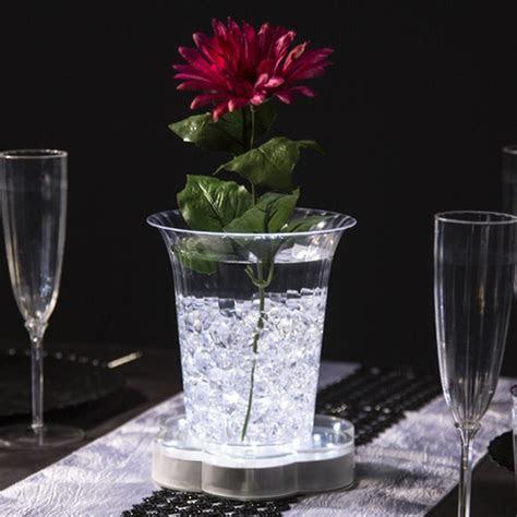 """6"""" Led Large Vase Base Light Up Floral Party Wedding"""