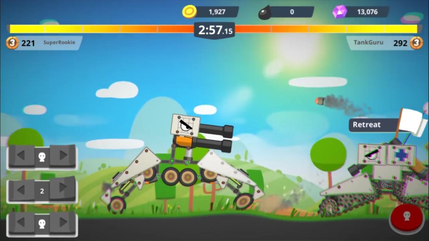 hướng dẫn chơi game Super Tank Rumble