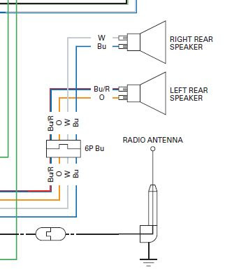 Audio System Wiring Schematic Diagram Gl1800riders Forums