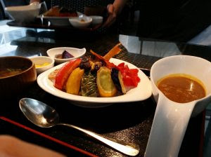 野菜カレー@銅鑼湾