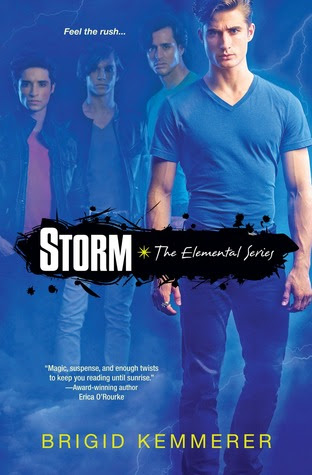Storm (Elementals #1) by Brigid Kemmerer - 24th April 2012