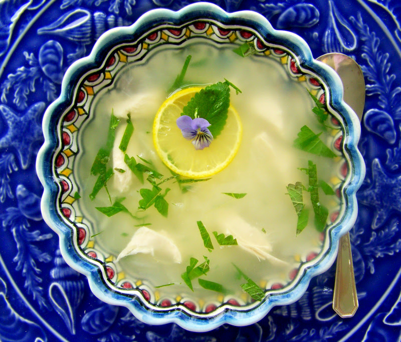 Canja - Portuguese Chicken Soup