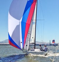 J70 sailing San Francisco