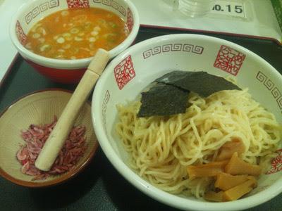 海老そばつけ麺,北海道物産展,札幌ラーメン