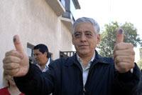 El alcalde priista de Tlalnepantla, Arturo Ugalde Meneses. Foto: Eduardo Miranda