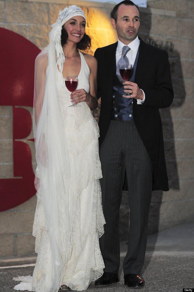 andres iniesta anna ortiz wedding