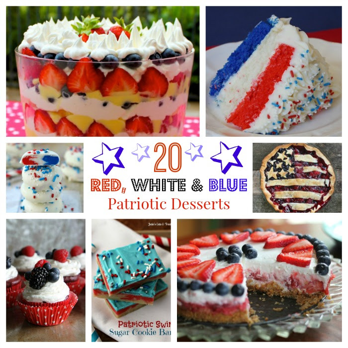20-Red-White-Blue-Patriotic-Desserts-Collage - HMLP 39 Feature