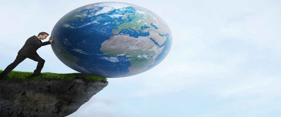 Al borde del abismo gracias al cambio climático