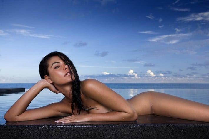 fotos de Leticia Datena nua na Revista Playboy