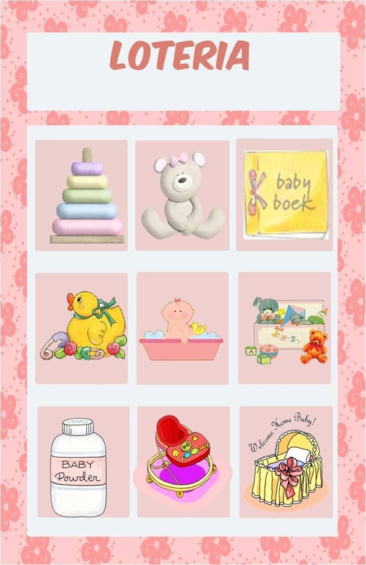 44 Juegos Para Baby Shower Bingo Para Imprimir Gratis