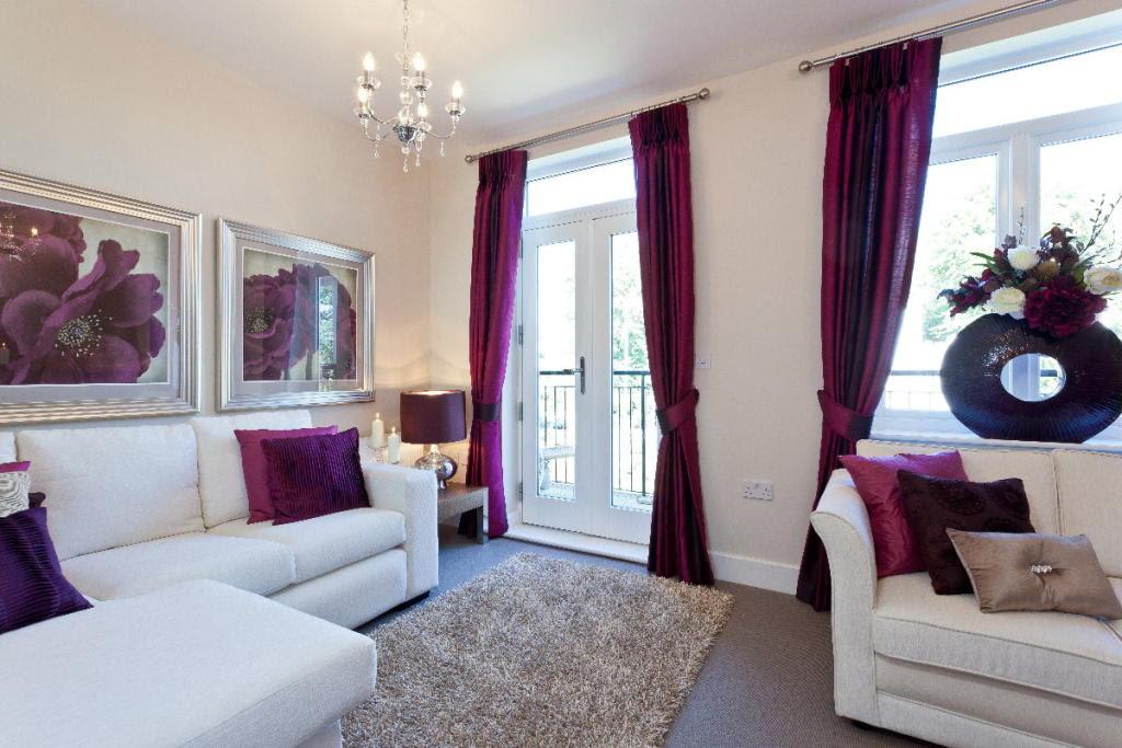 Purple Living Room Design Ideas, Photos & Inspiration ...