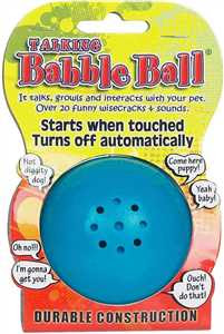 Talking Babble Ball for Dogs