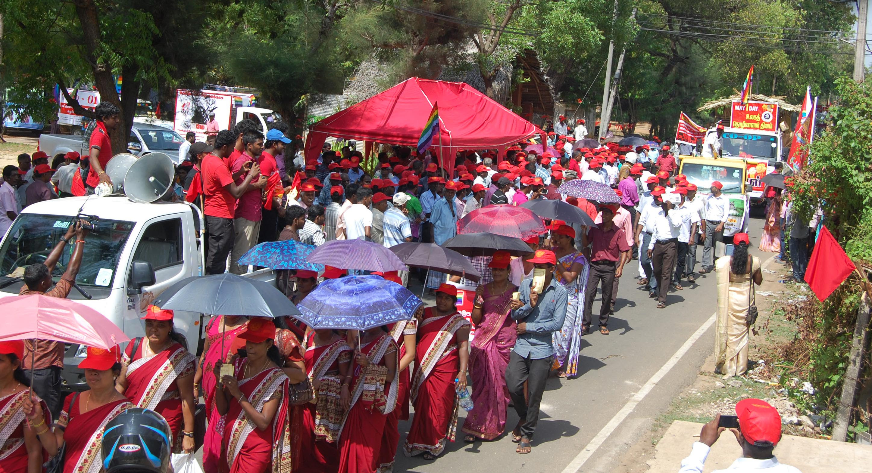 Image result for May Day celebration in  jaffna