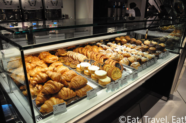 Pastries at Jean Philipppe Patisserie Aria