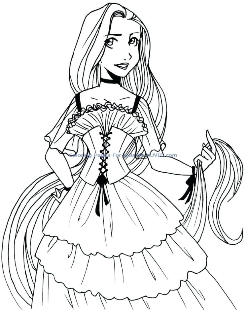 Ariel Coloring Pages | Free download on ClipArtMag