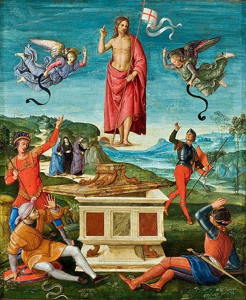 Archivo: Raffaello Sanzio Auferstehung Christi Sao Paulo.jpg