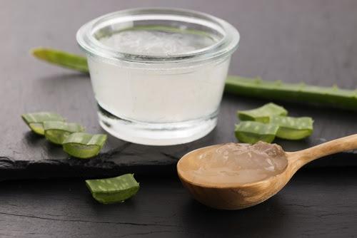 mascarilla aloe vera y aceite de oliva