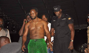 Bebe Cool thrown off stage