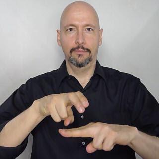"""chair"" American Sign Language (ASL)"