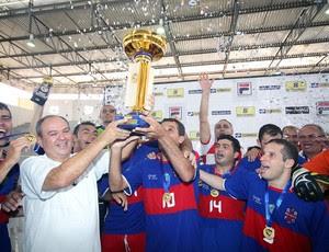 Alecrim é campeão da Taça Brasil de Futsal, em Assú (Foto: Zerosa Filho/CBFS/Divulgação)