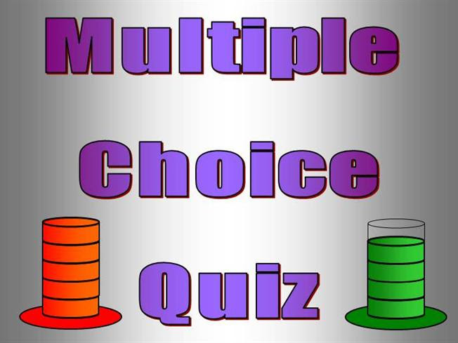 Interactive TEFL Game Template - Quiz - Multiple Choice ...