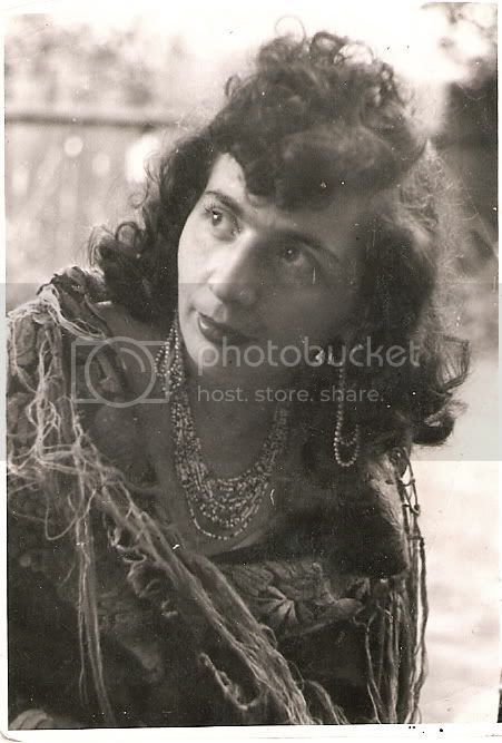 Mother as Gypsy 50s