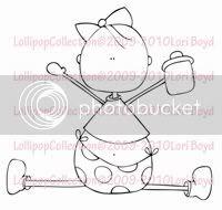 Lollipop – Baby Olivia
