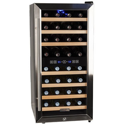 Koldfront Free Standing Dual Zone 32 Bottlewine Cooler List Reviews