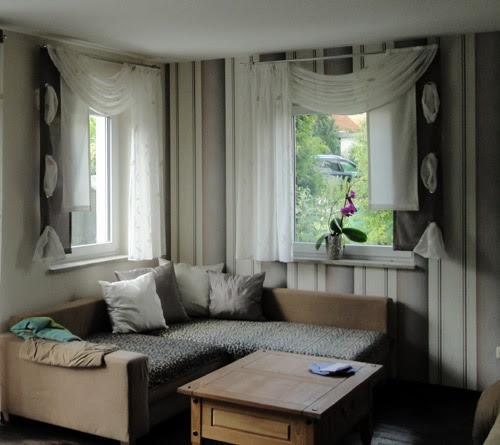 Wohnzimmer Ideen Gardinen