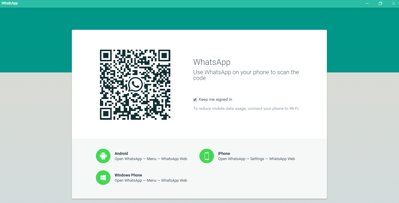 How to Get Started on Whatsapp - Scan the QR Code