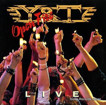 Y&T open fire