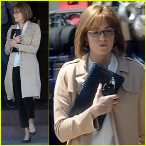 Mandy Moore Films 'This Is Us' Scenes as Older Rebecca
