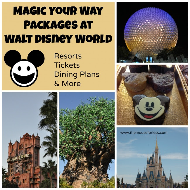 Walt Disney World Magic Your Way Vacation Package Inclusions