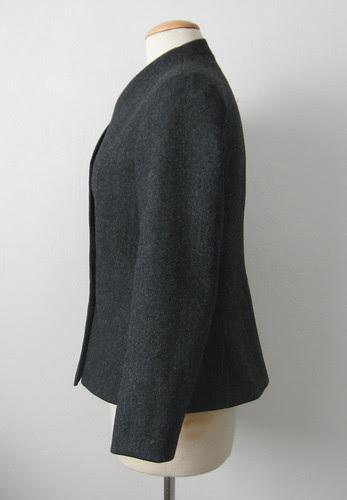Burda jacket side