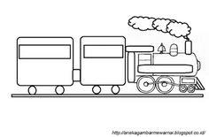 Gambar Mewarnai Kereta Api Thomas Auto Electrical Wiring Diagram