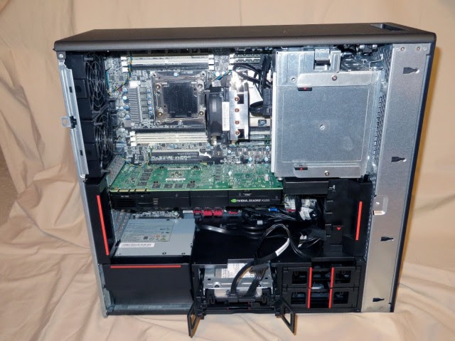 Figure 3. Inside the Lenovo P700. (Image courtesy of the author.)