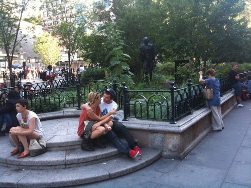 Lovers in Union Square