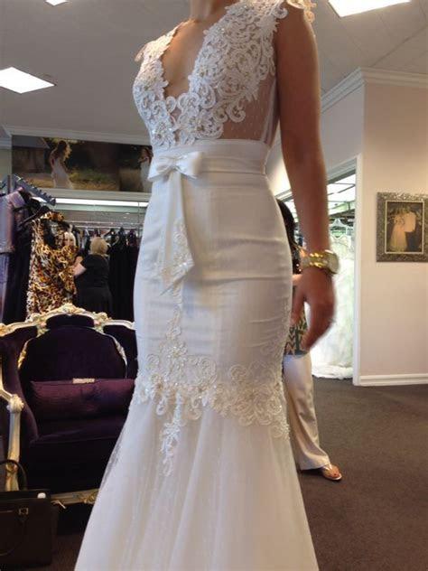 Beautiful Berta Bridal Pre Owned Wedding Gown   Berta