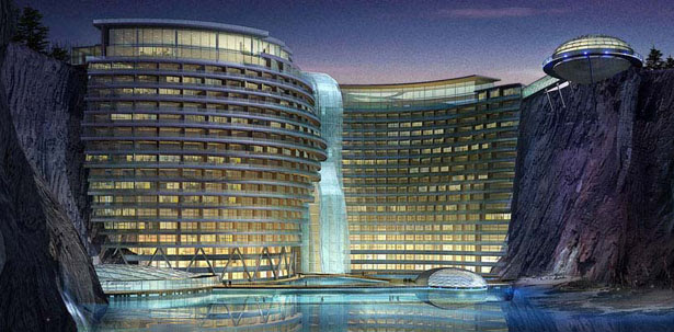 Stunning Songjiang Hotel Project Takes Advantage Of Abandoned Water