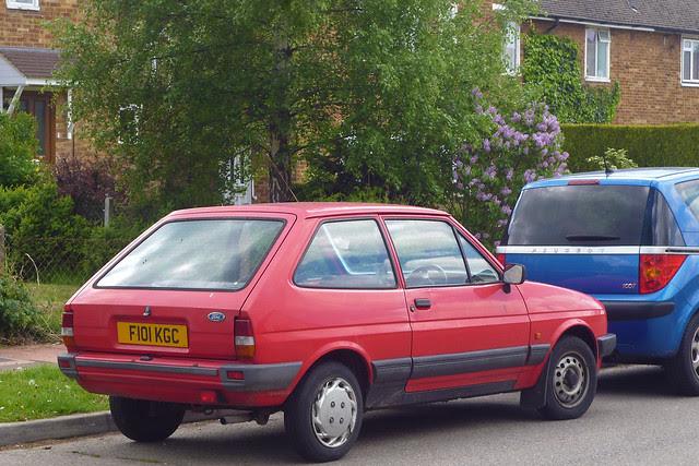 1989 Ford Fiesta 950 Popular