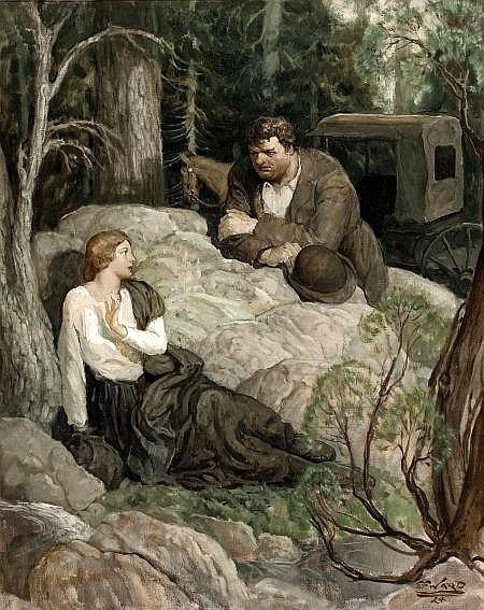 Edmund Franklin Ward (1892 – 1990) Lovers