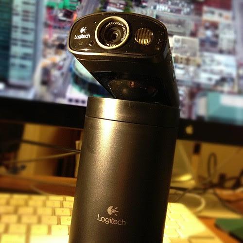 Logitech Broadcaster Wi-Fi Webcam by stevegarfield