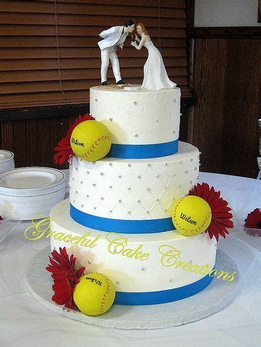 1000  ideas about Baseball Wedding Cakes on Pinterest