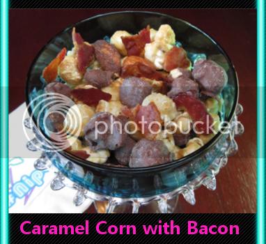 caramel corn bacon