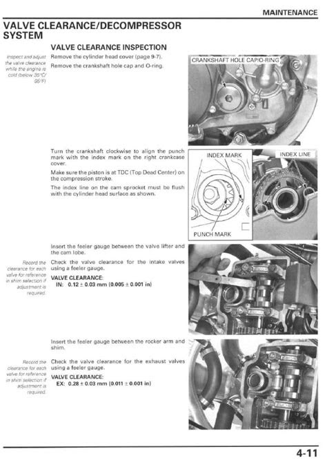 Service manual / 2004 - 2009 Honda CRF250R - Frank! MXParts