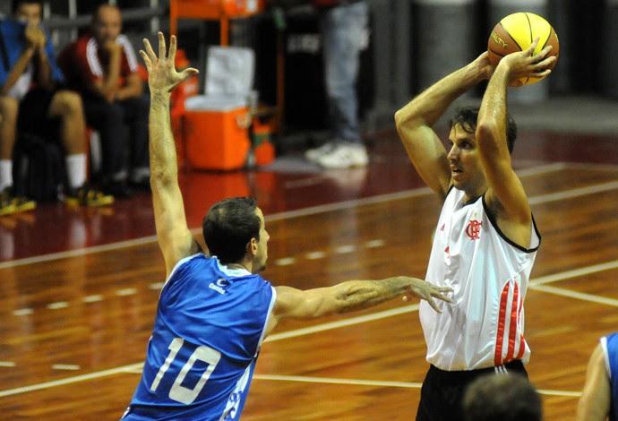 Basquete Marcelinho Flamengo x Macaé (Foto: André Durão / Globoesporte.com)