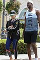 khloe kardashian tristan thompson hit the gym together in calabasas 03