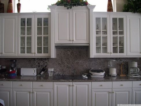 Kitchen Ideas  White Cabinets on White Kitchen Cabinetry With Stunning Marble Counters And Backsplash