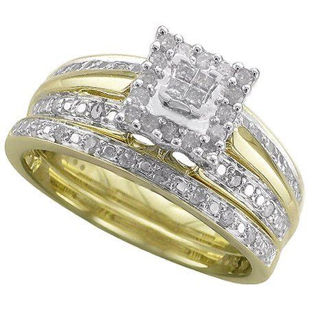 Forever Bride 1/3 Carat T.W. Diamond 10kt Yellow Gold